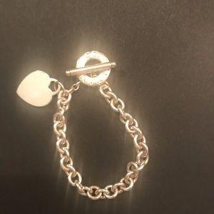 Tiffany toggle heart bracelet.